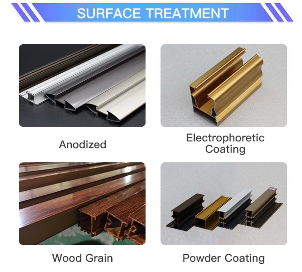 Aluminum Profile Surface