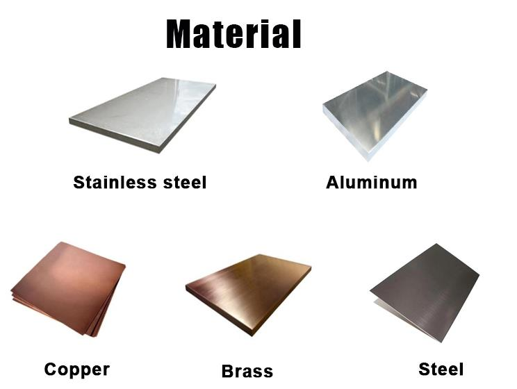 CNC Machined Parts Material
